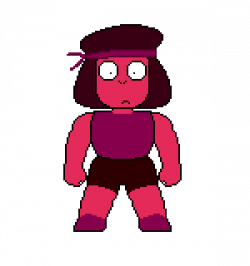 Ruby clipart pixel