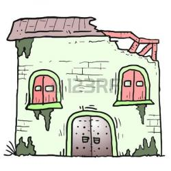 Ruin clipart abandoned house