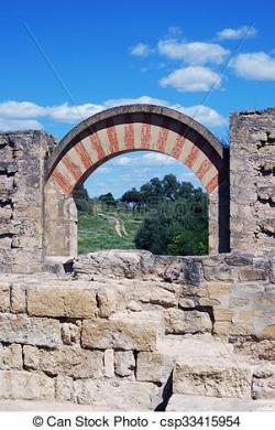Ruin clipart arch