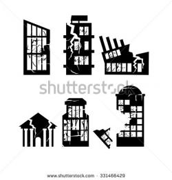 Quaka clipart destroyed house