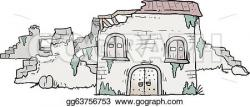 Ruin clipart old house