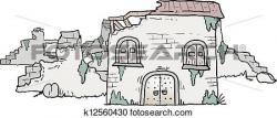 Ruin clipart poor house