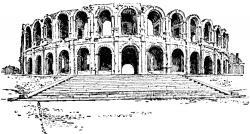 Ruin clipart roman architecture