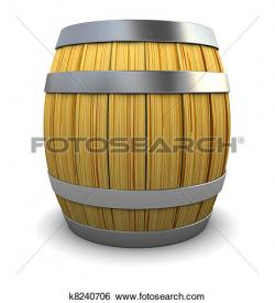 Barrel clipart wine barrel