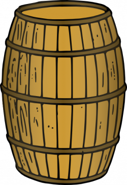 Barrel clipart cartoon