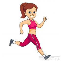 Race clipart kid fitness