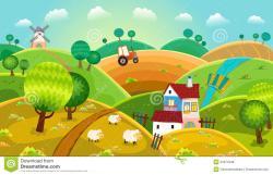Rural clipart