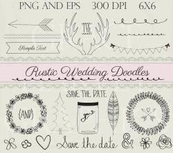 Line clipart rustic