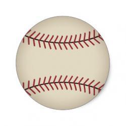 Baseball clipart rustic