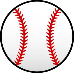 Capped clipart softball