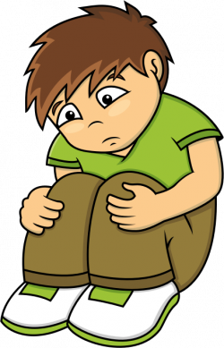 Lonely clipart sad kid