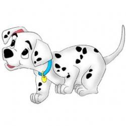 Dalmation clipart baby puppy