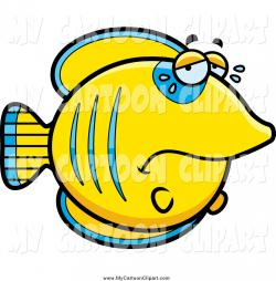 Butterflyfish clipart blue fish