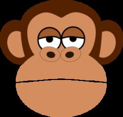 Chimpanzee clipart cartoon