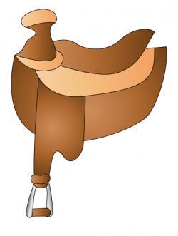 Saddle clipart cartoon
