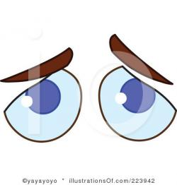Sadness clipart closed eye