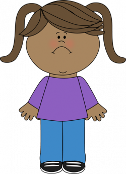 Sadness clipart sad kid