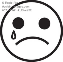Sadness clipart sad smile