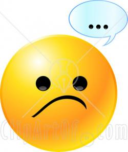 Smiley clipart dislike