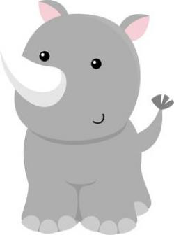 Grey clipart zoo animal