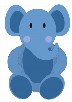Safari clipart baby elephant