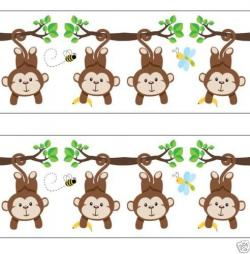Wallpaper clipart monkey