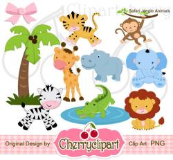 Safari clipart digital