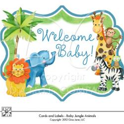 Safari clipart jungle theme