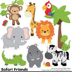 Safari clipart rainforest monkey