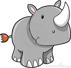 Safari clipart rhino