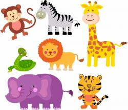 Safari clipart zoo animal