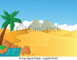 In The Desert clipart sahara desert