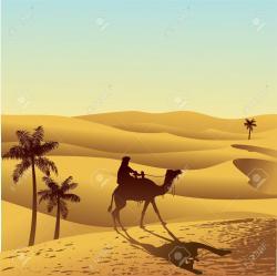 Camels clipart sahara desert