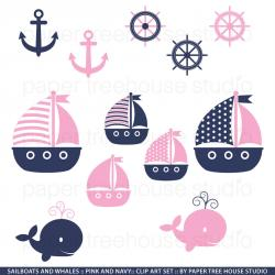 Sailing Boat clipart navy ship