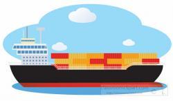 Container clipart ocean