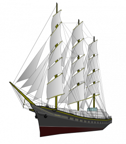 Titanic clipart clipper ship
