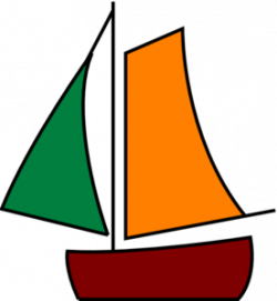 Sailing clipart triangle