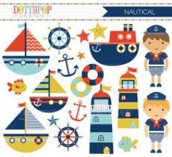 Marina clipart nautical