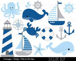 Sailboat clipart kid nautical