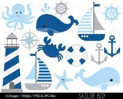 Sailboat clipart kid nautical