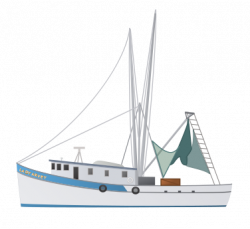 Sailing Boat clipart fishing boat