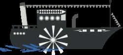Sailboat clipart riverboat