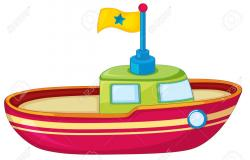 Ferry clipart toy boat