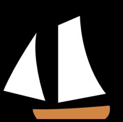 Sailboat clipart transparent
