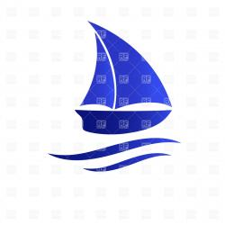 Sailing Ship clipart shadow