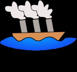 Ferry clipart steamship
