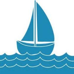 Sailboat clipart wave