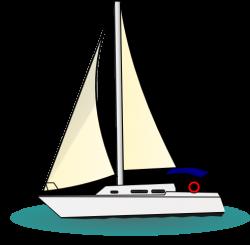 Sailboat clipart yacht