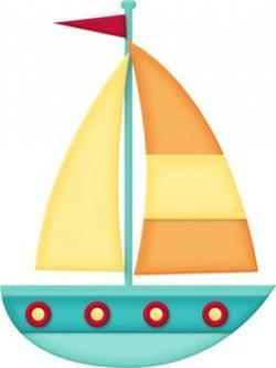 Sailing Boat clipart bote