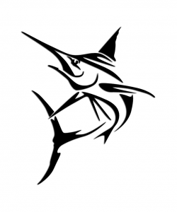 Tuna clipart tribal